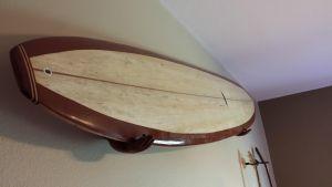 Handcrafted Wood Hands | Surfboard Wall Display Rack