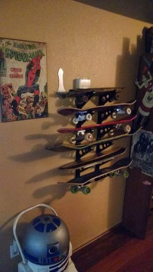 Skateboard Storage Rack | Trifecta Rack