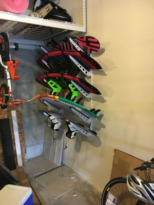 Wakeboard Storage Rack