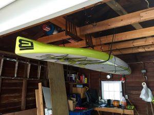 SUP Hi-Line | Adjustable Paddleboard Ceiling Storage