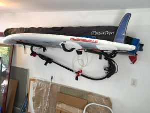 Paddleboard Rack for Home | Removable Arms