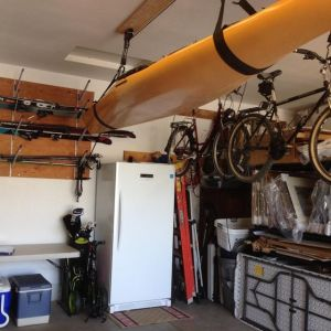 Horizontal Ski Storage Rack | Adjustable