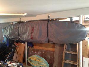 Hanging Paddleboard Strap Rack