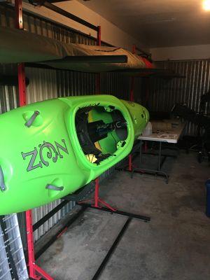 2 SUP and 2 Kayak Storage | Freestanding Floor Rack