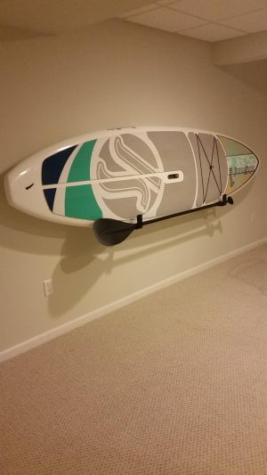 Naked SUP | Wall Display | Minimalist Paddle Board Rack