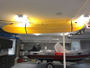 Premium Kayak Hoist | Overhead Kayak Lift Kit