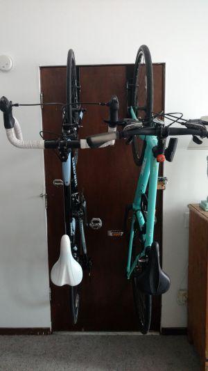 Apartment Door Bike Rack | Removable