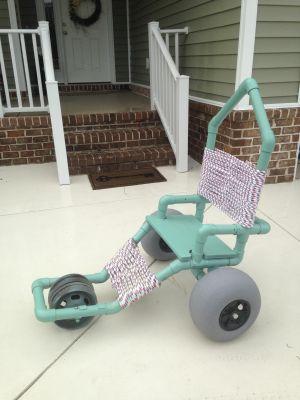 Soft Terrain Beach Wheels | For Kayak Dolly or Beach Cart