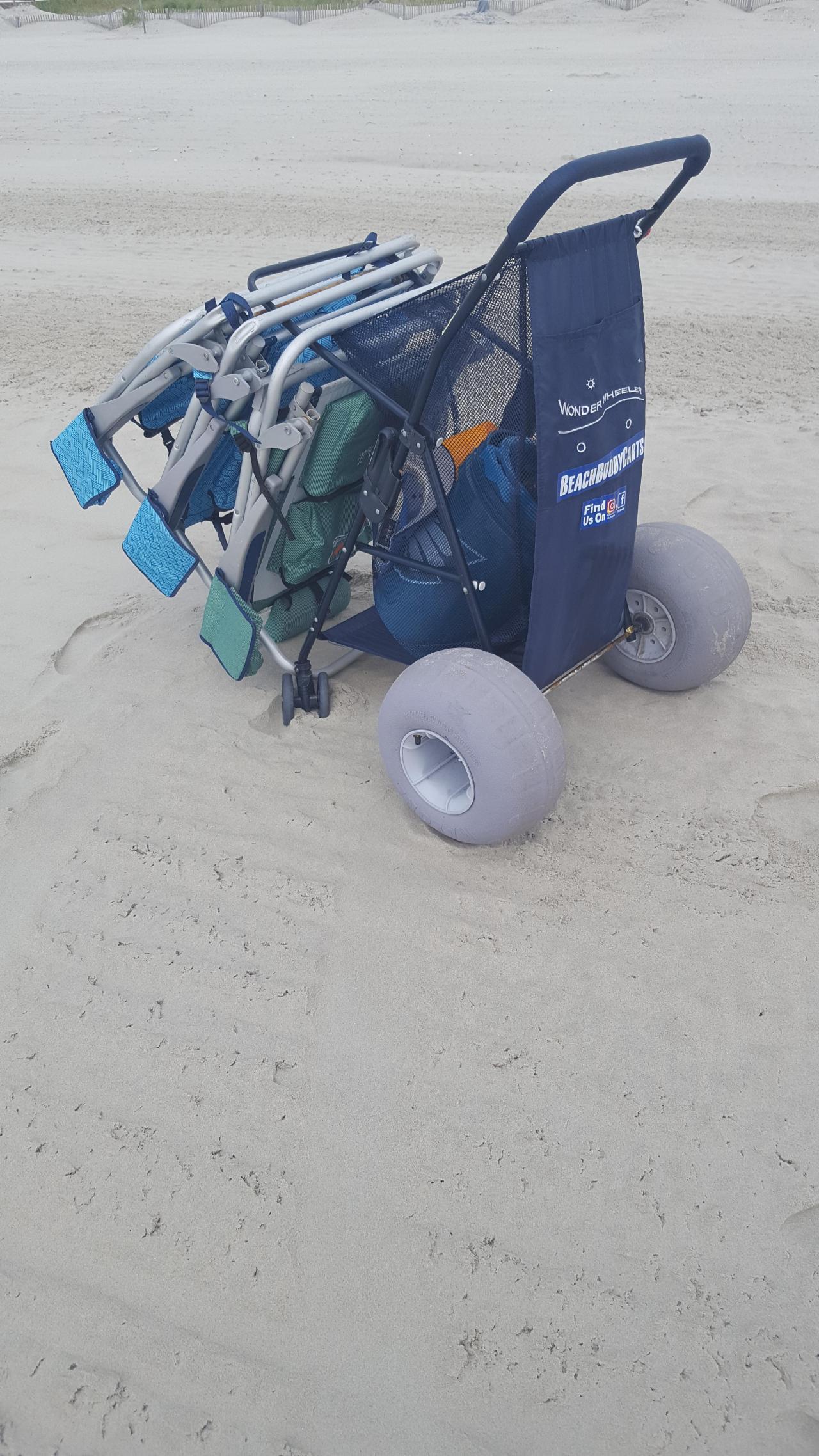 344afa2ec1e2 Soft Terrain Beach Wheels   For Kayak Dolly or Beach Cart ...