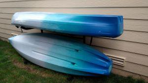 Indoor & Outdoor Freestanding Kayak Rack | Kayak Storage System