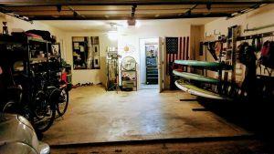 Freestanding Standup Paddleboard Floor Rack