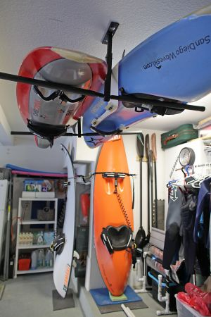 Hi-Port 2 | Adjustable 2 Kayak Ceiling Storage