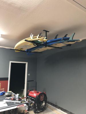 Hi-Port 2 | Adjustable Surfboard Ceiling Storage