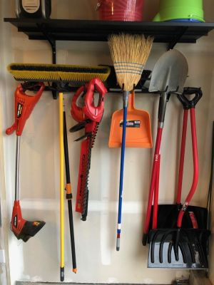 Omni Tool Storage Rack + Shelf | Wall Mounted Home & Garage Storage System