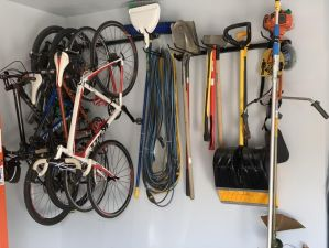 Omni Bike Wall Rack | Holds up to 5 Bikes | Garage Storage