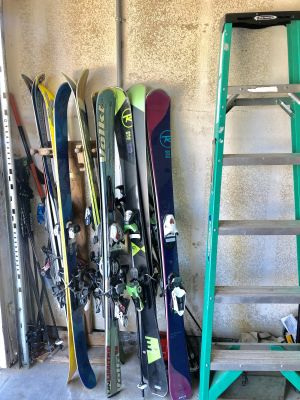 Omni Ski Rack | Holds up to 10 Pairs of Skis | Home & Garage Wall Storage