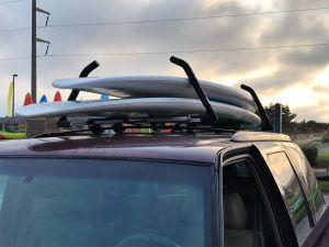 Double SUP Locking Roof Rack | Adjustable Arms
